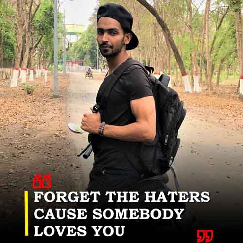 Forget the haters…cause somebody loves you
