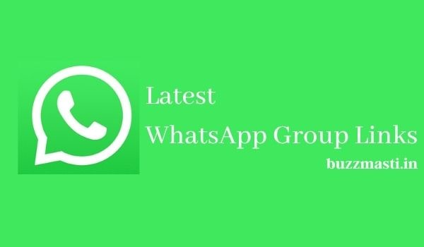 Latest WhatsApp Group Links 2020