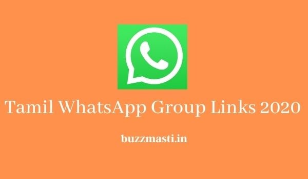 Tamil WhatsApp Group Links
