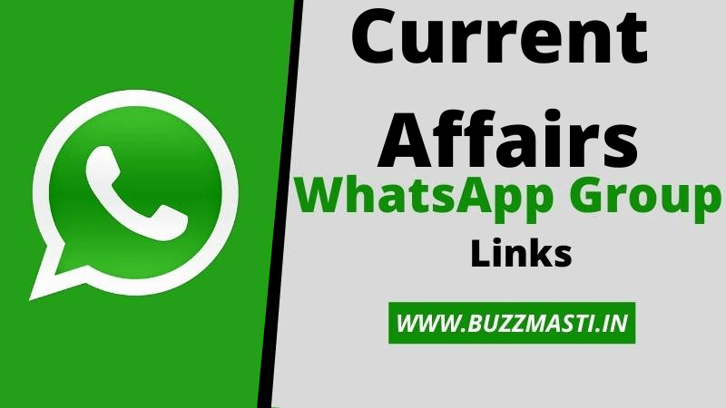 Current Affairs Whatsapp Group Links